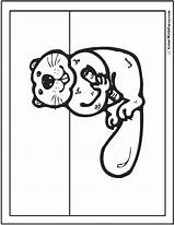 Beaver Coloring Pages Dams Printable Snacktime Habitat Colorwithfuzzy sketch template