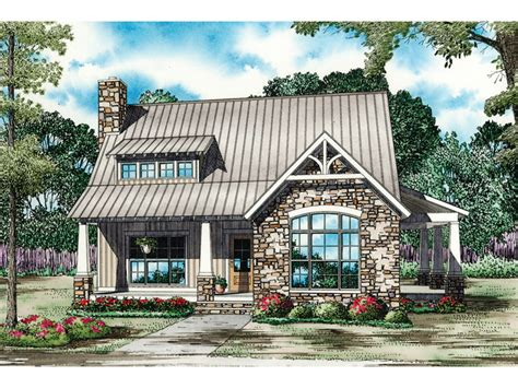 Balcarra English Cottage Home Plan 055d-0862