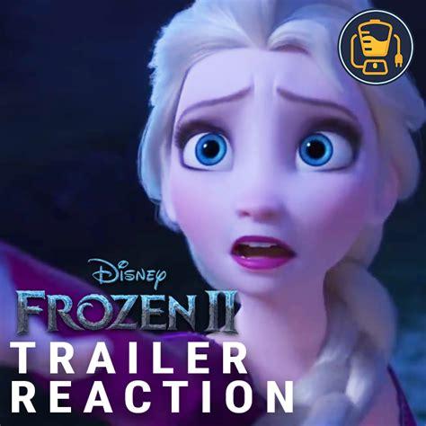 frozen  official trailer reaction cinemablend