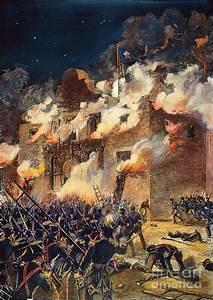 Texas: The Alamo, 1836 Photograph by Granger