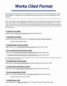 Best photos of 2012 mla format works cited mla format for Work cited mla format template