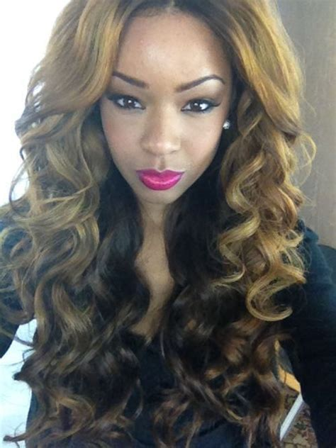 Brown And Weave Hairstyles by 187 Best Black Hair Images On