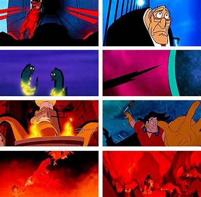 Death Disney There Villains Deaths Defeats Gifs