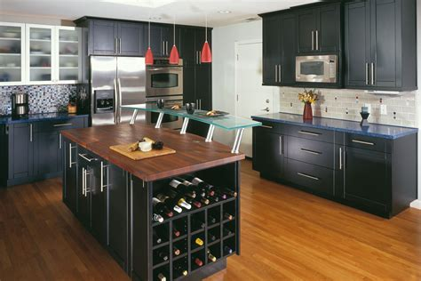Painted Kitchen Cabinet Color Ideas - 50 ideas black kitchen cabinet for modern home mybktouch com