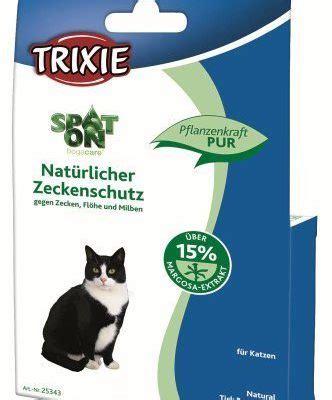 trixie spot  natuerl zeckenschutz katze   ml