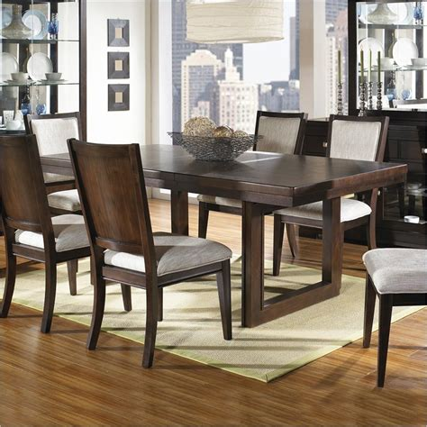 shadow ridge modern rectangular casual dining table