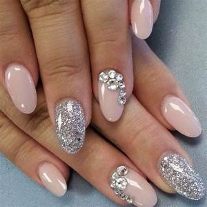 Oval Tip Nail Designs: New Trend 2017-2018 - StylePics