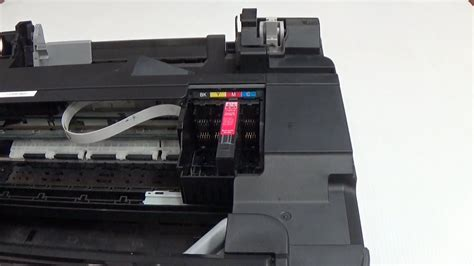 How to remove the print-head from Epson inkjet printer