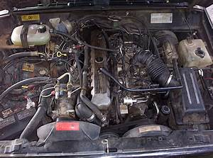 1989 Cherokee Engine Photos