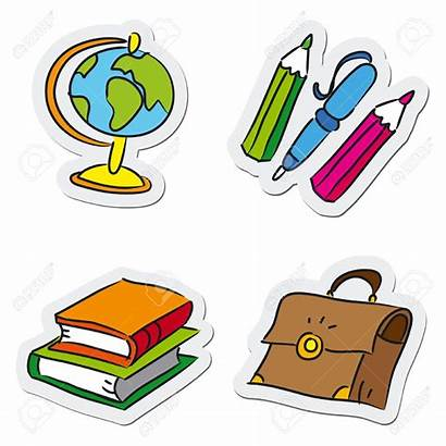 Stationery Clipart Objects Clipground Cliparts Satchel