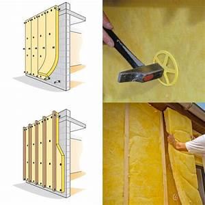 Fixation Pour Isolant : fixation laine de verre ~ Edinachiropracticcenter.com Idées de Décoration