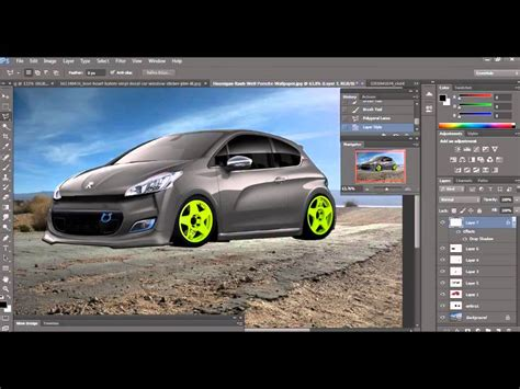 peugeot 208 gti tuning peugeot 208 gti tuning photoshop