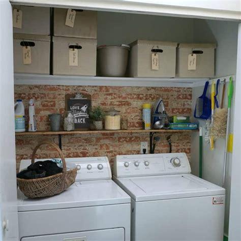 design  simple laundry closet makeover