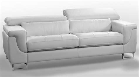 canape blanc cuir canape cuir poltronesofa maison design wiblia com