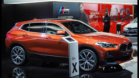 Bmw X2 Modification by Bmw X2 Sunset Orange Launch At 2018 Naias