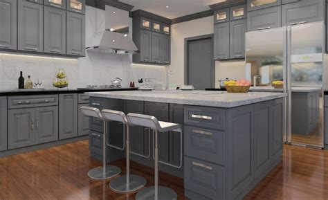 gray cabinet kitchen classic grey cabinets ready to assemble kitchen cabinets 1312