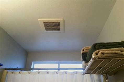 bathroom vent fan installation how to install a bathroom air vent 5 guides for hygiene