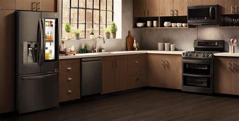 shop lgs black stainless steel appliances lg usa
