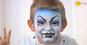 Maquillage Simple Enfant : vid o maquillage enfant le vampire ~ Melissatoandfro.com Idées de Décoration