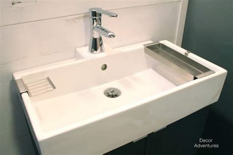 Ikea Lillangen Sink Uk by New Basement Bathroom Vanity Ikea Style 187 Decor Adventures