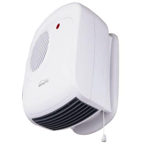 moretti bathroom heater wall mounted 2400w white sku