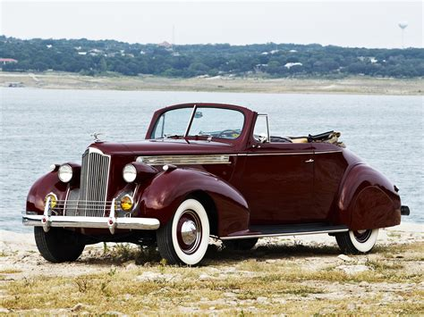 1940 Packard 120 Convertible Coupe retro wallpaper ...