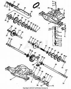 Poulan Pp11536ka Tractor Parts Diagram For Dana Transaxle