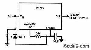 power on delay power supply circuit circuit diagram With power delay circuit