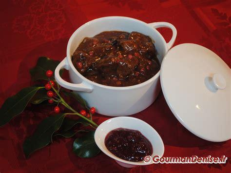 cuisiner le cerf civet de cerf sauce grand veneur repas festif acte iii