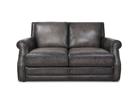 Gray Leather Loveseat by Charcoal Gray Leather Sofa Sofa Grey Leather Sectional
