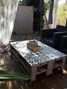 Table Basse Palettes : best 25 table basse palette ideas on pinterest table ~ Melissatoandfro.com Idées de Décoration