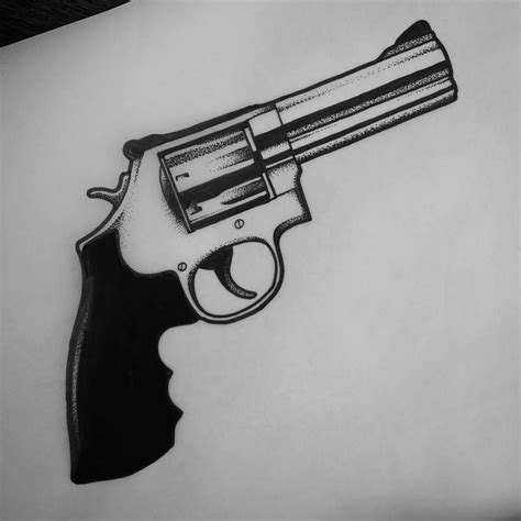 Best 25+ Gun Tattoos Ideas On Pinterest  Pistol Gun