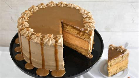butterscotch maple cheesecake torte recipe tablespooncom