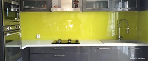 cuisine cr ence crédence en verre laqué pour votre cuisine verre laque com