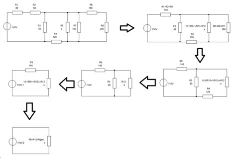 gemischte schaltung gesamtwiderstand elektronik