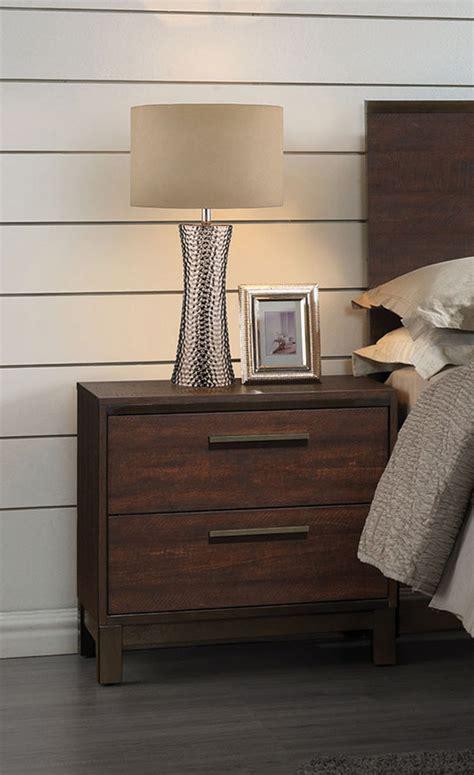 coaster edmonton bedroom set tobacco  bedroom set