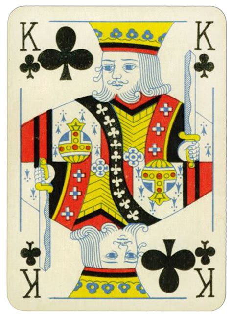 You are constantly dealing with multiple forms of harassment. King of clubs Praha Poker cards from early XX c - Playing Cards Top 1000