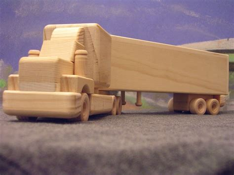 Wood Tow Truck Plans