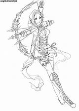 Archer Greatestcoloringbook Serapportantà sketch template