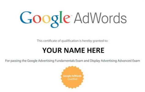Adwords Certification by 10 Digital Marketing Courses Get Certified By