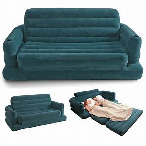 Free shipping inflatable sofa bed couch intex furniture for Sofa bed free delivery