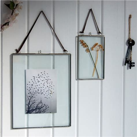 cadre en verre pour photo cadre en verre et m 233 tal 10 x 15 cm