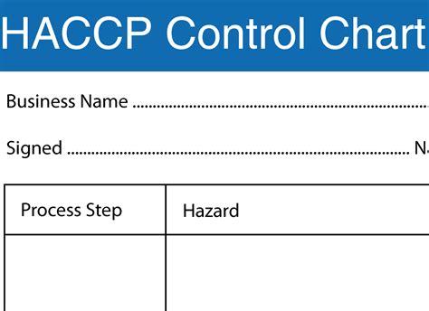 haccp cuisine haccp flow chart template