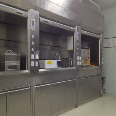 stainless steel fume hood  lab draught cupborad company price supplier