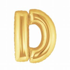 gold letter d balloon giant foil letter d balloon 40 With gold letter d