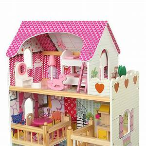 Winkelschleifer Zubehör Holz : baby vivo puppenhaus rosalie aus holz mit zubeh r baby kind spielzeug puppenh user ~ Eleganceandgraceweddings.com Haus und Dekorationen