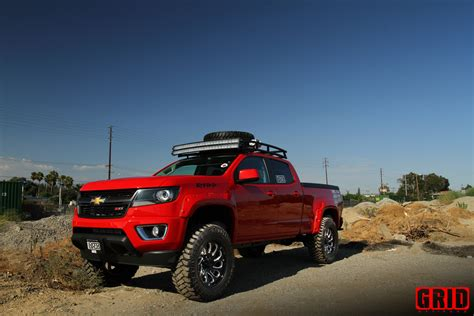 Chevy Colorado On Grid Offroad Wheels