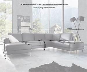 Wohnlandschaft 300 Cm Breit : designer wohnlandschaft silas 300x200 weiss ottomane rechts m bel sofas wohnlandschaften ~ Bigdaddyawards.com Haus und Dekorationen