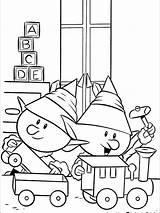 Nosed Renne Nez Ausmalbilder Renifer Rednosed Noel Lutins Czerwononosy Nariz Nase Roja Kolorowanka Malbuch Coloringpages101 Elves Druku Bojanke Coloriez Abominable sketch template