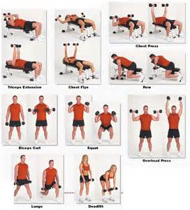 Exercises with Dumbbells at Home